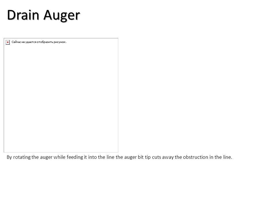 Drain Auger Plumbing Tools And Supplies-Misc Plumbing Image: DrainAugar.jpg Height: 400 Width: 400.