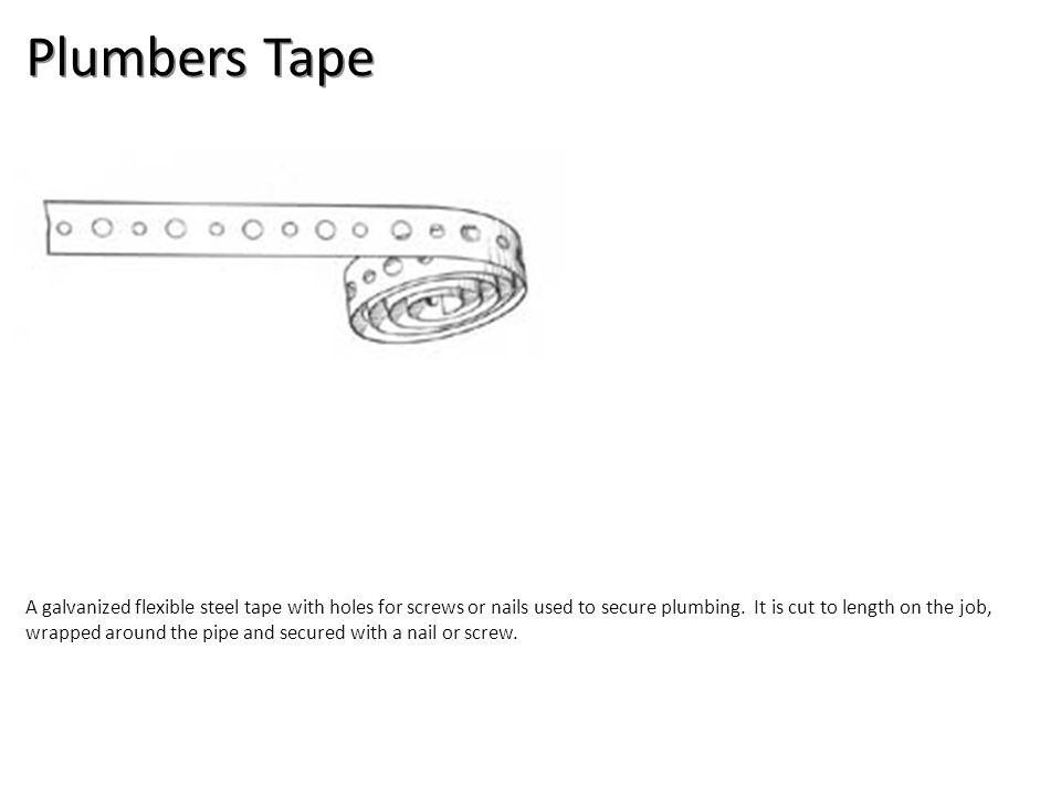Plumbers Tape Plumbing Tools And Supplies-Misc Plumbing Image: PlumbersTape.jpg Height: 103 Width: 250.