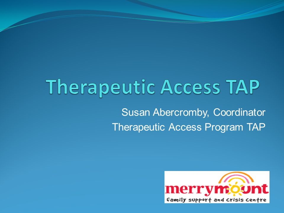 Therapeutic Access TAP