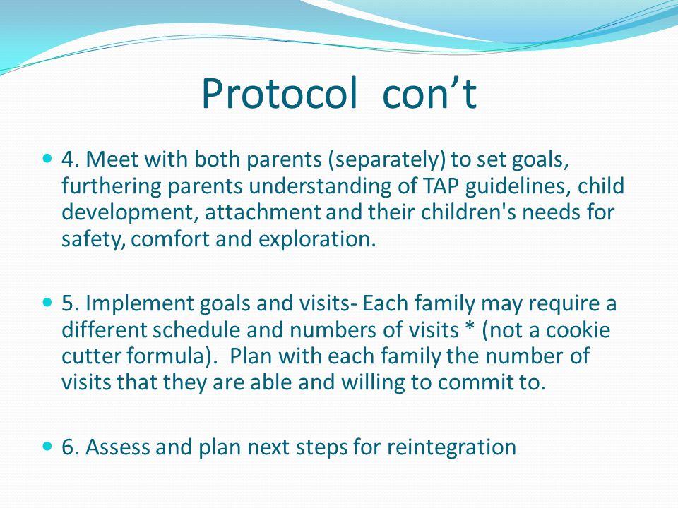 Protocol con't