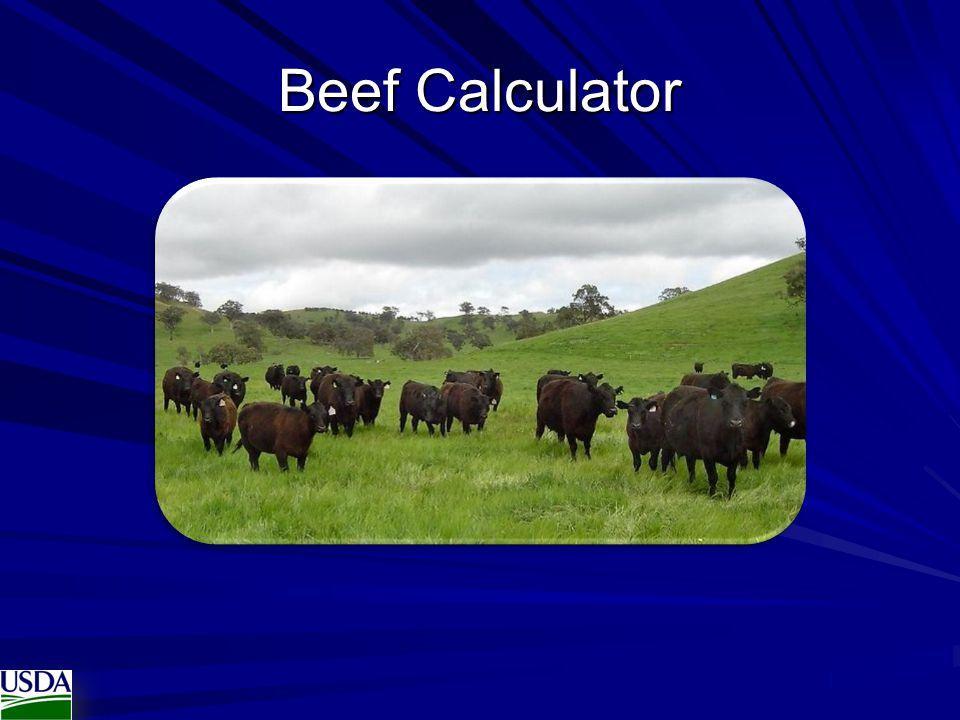 Beef Calculator