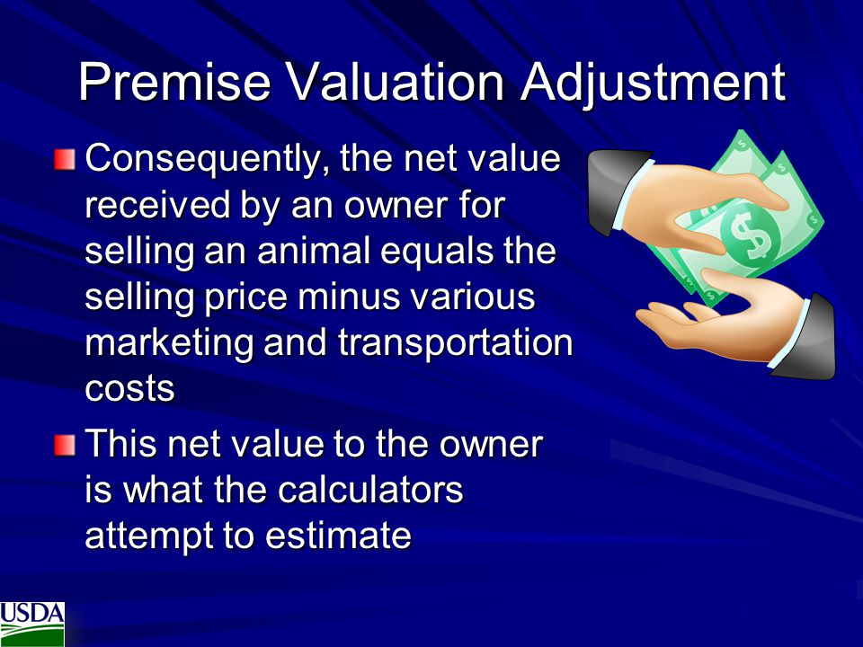 Premise Valuation Adjustment
