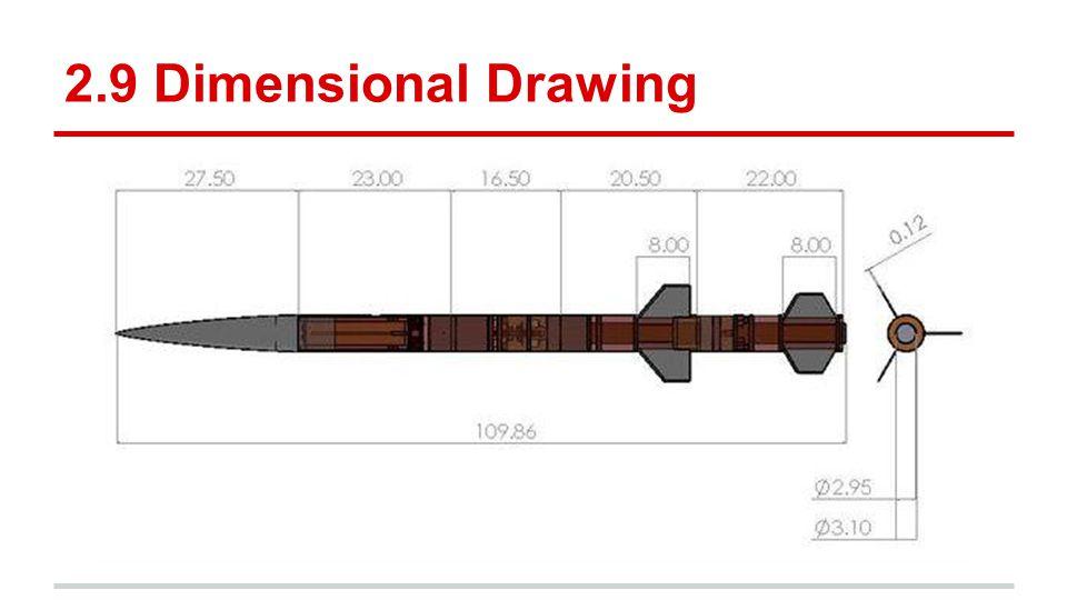 2.9 Dimensional Drawing