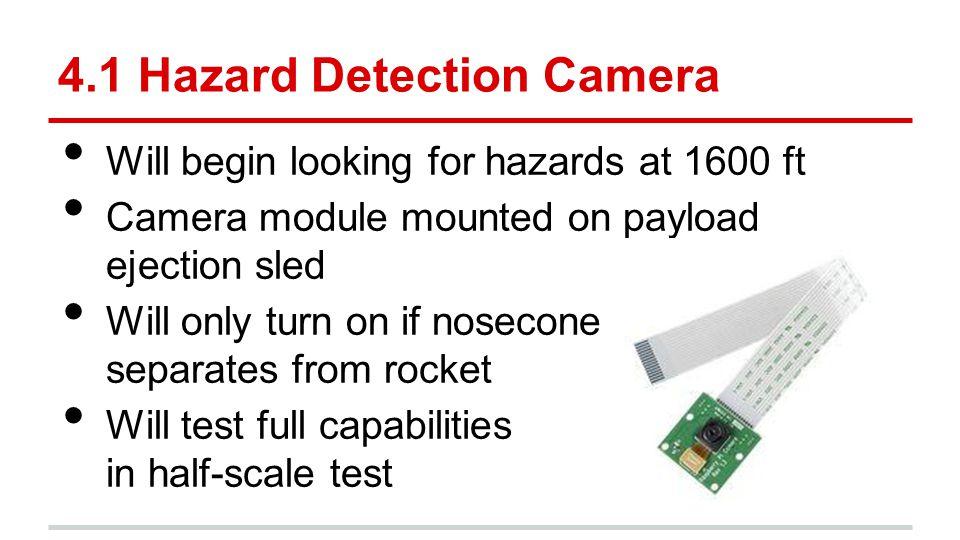 4.1 Hazard Detection Camera