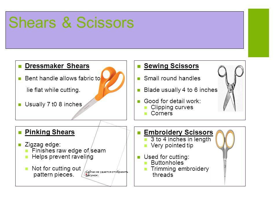 Shears & Scissors Dressmaker Shears Sewing Scissors Pinking Shears