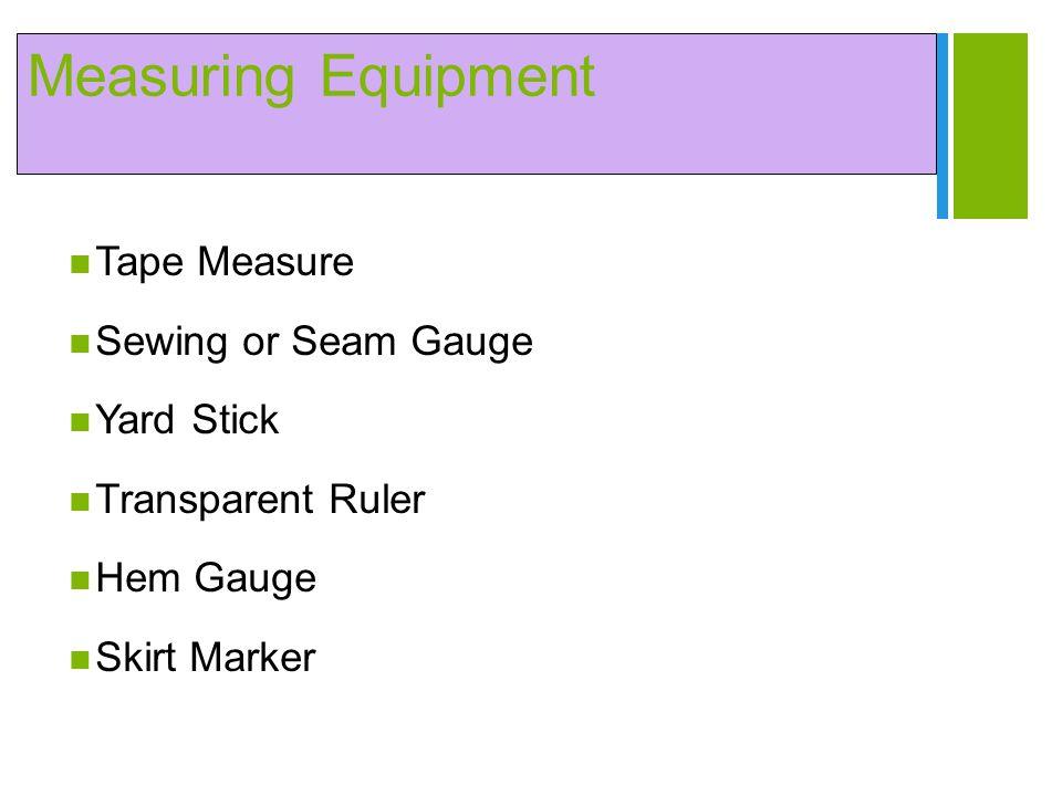Measuring Equipment Tape Measure Sewing or Seam Gauge Yard Stick