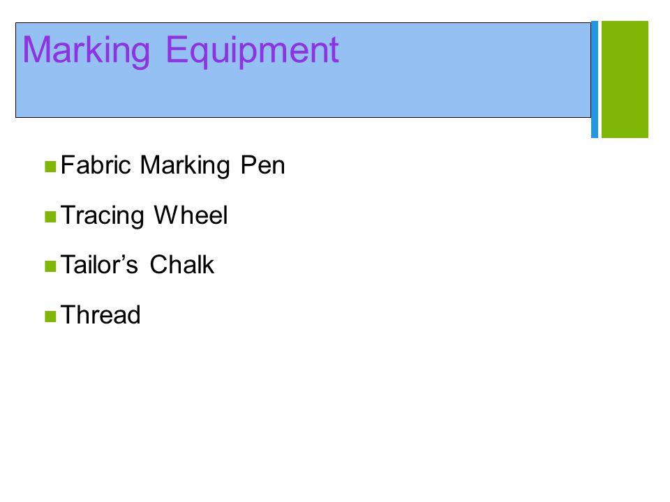 Marking Equipment Fabric Marking Pen Tracing Wheel Tailor's Chalk