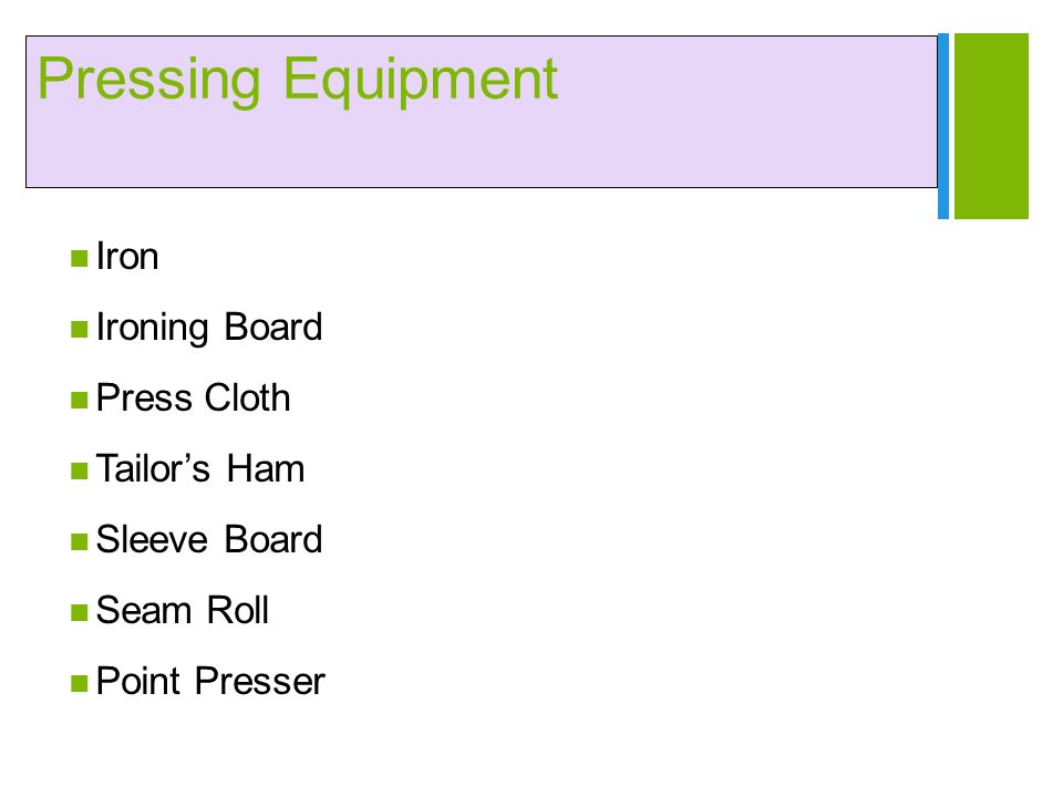 Pressing Equipment Iron Ironing Board Press Cloth Tailor's Ham
