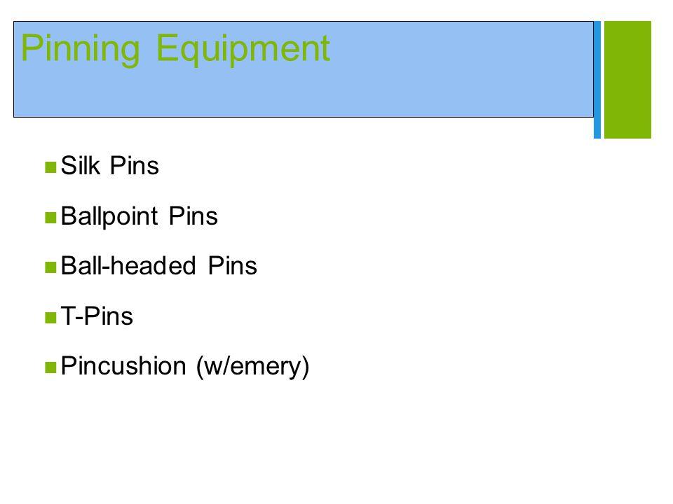Pinning Equipment Silk Pins Ballpoint Pins Ball-headed Pins T-Pins