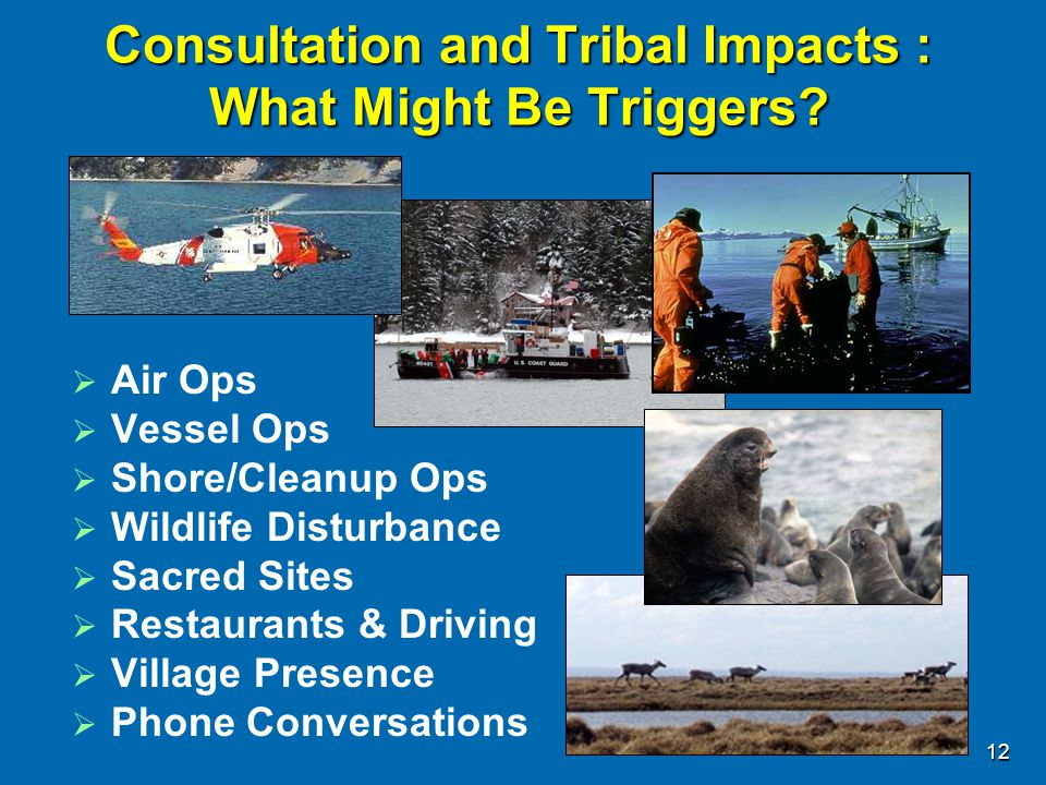 Consultation and Tribal Impacts : What Might Be Triggers