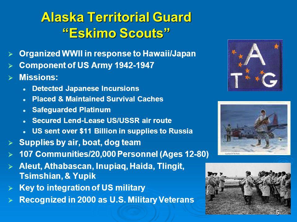 Alaska Territorial Guard Eskimo Scouts