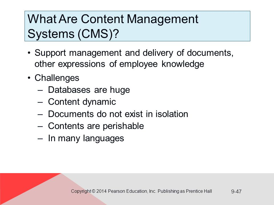 What Are Content Management Systems (CMS)