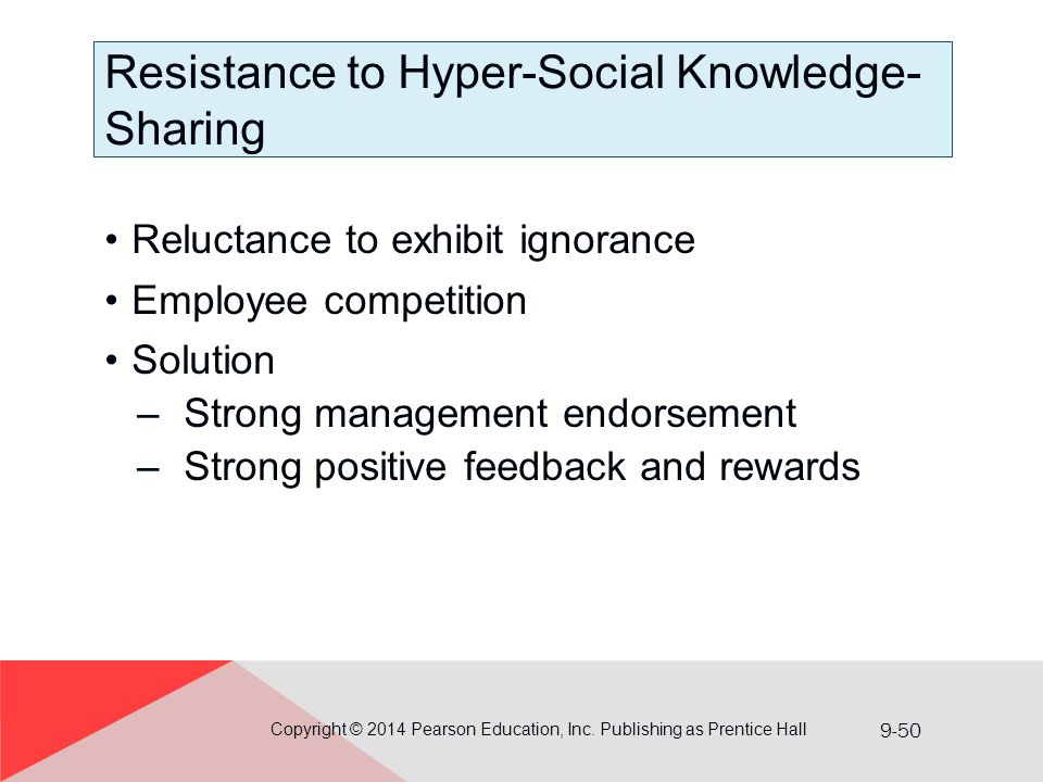 Resistance to Hyper-Social Knowledge-Sharing