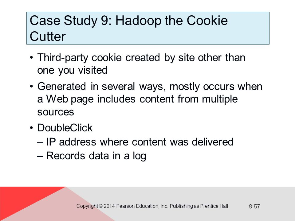 Case Study 9: Hadoop the Cookie Cutter