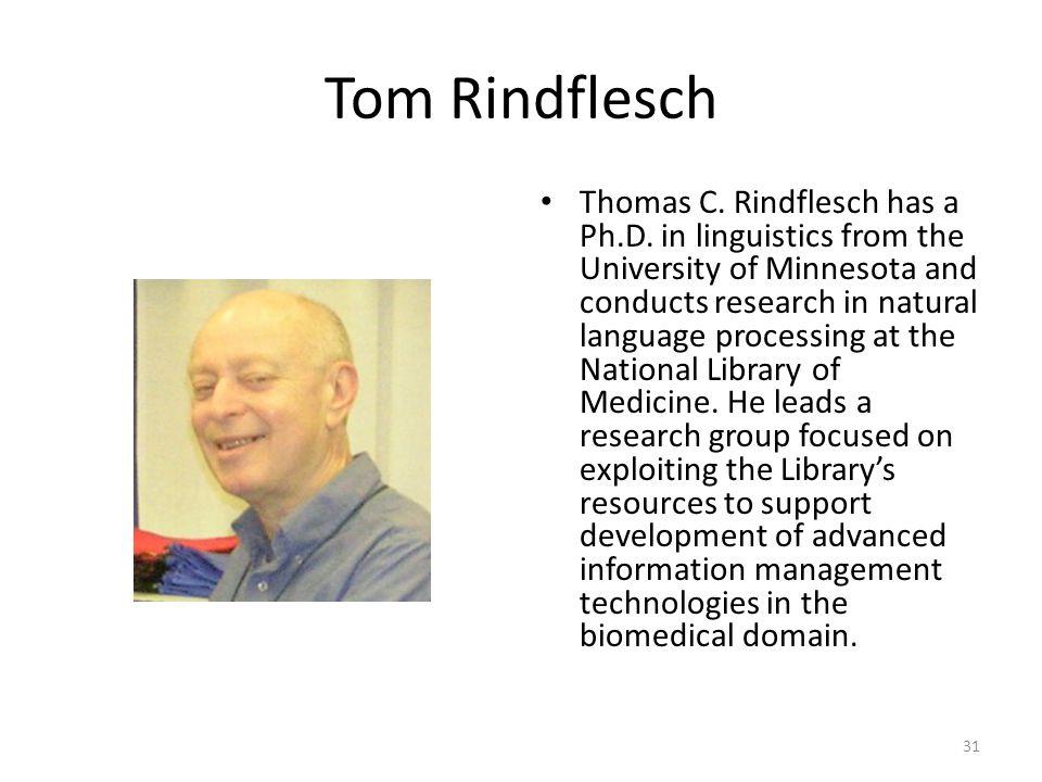 Tom Rindflesch