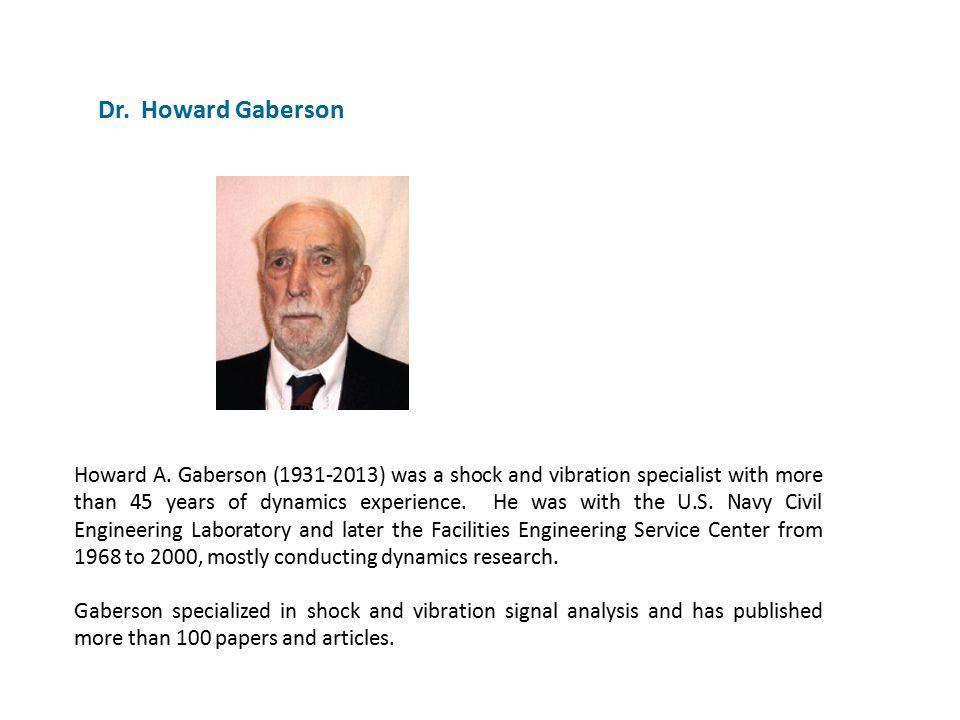 Dr. Howard Gaberson