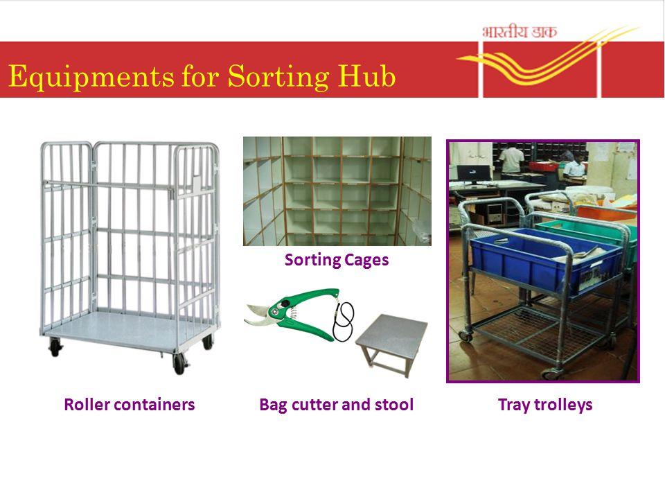 Equipments for Sorting Hub