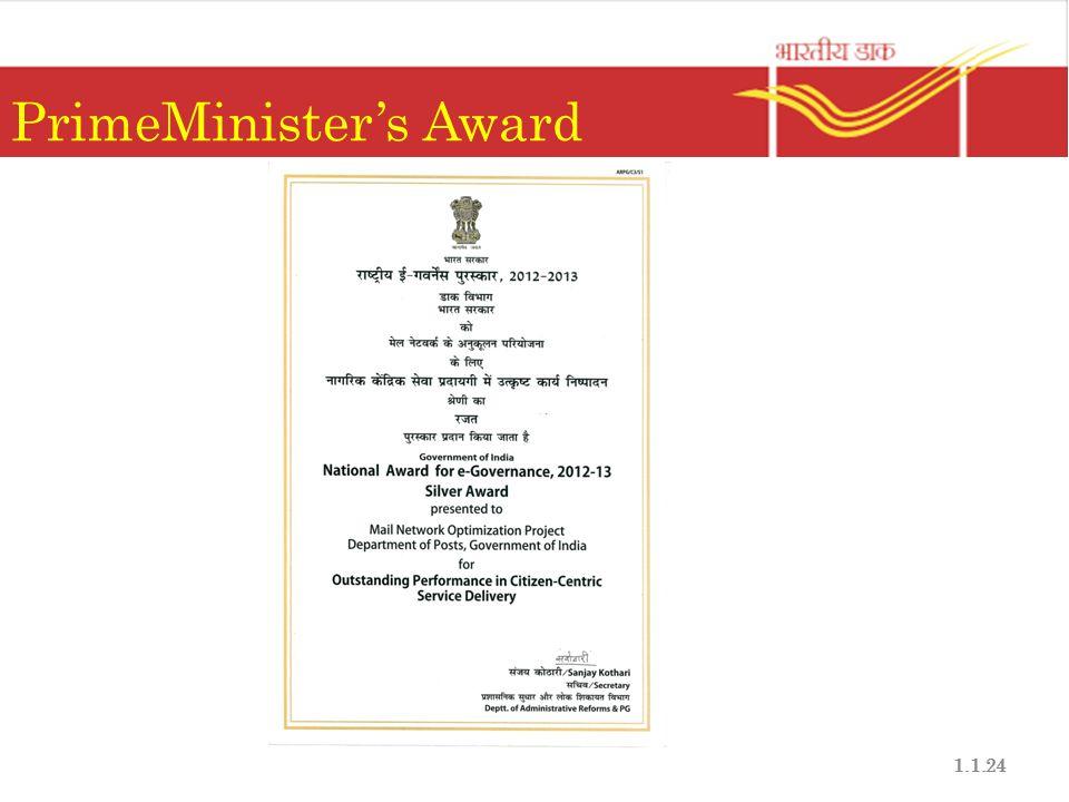 PrimeMinister's Award