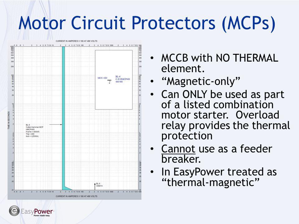 Motor Circuit Protectors (MCPs)