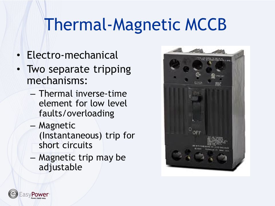 Thermal-Magnetic MCCB