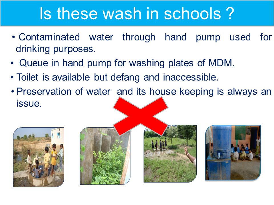 Is these wash in schools