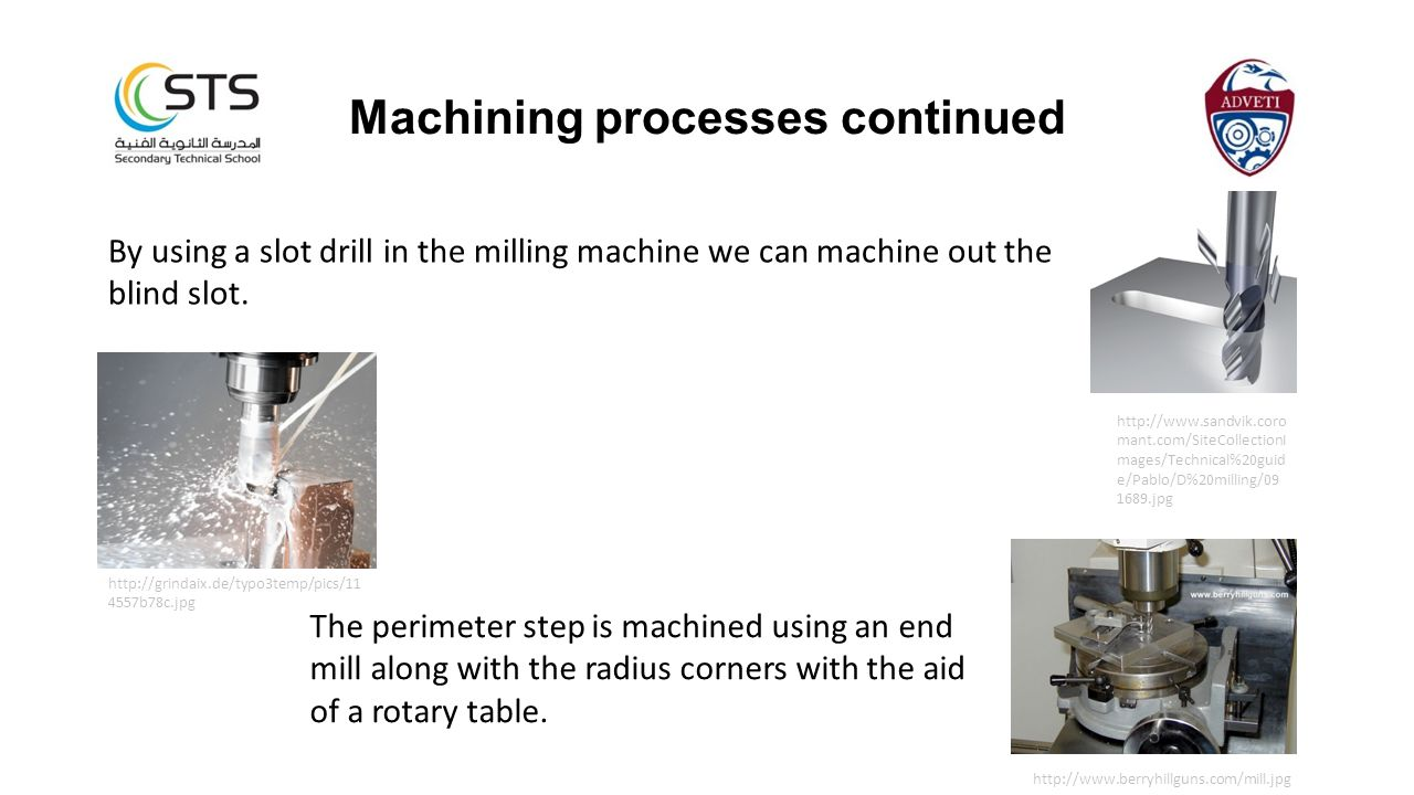 Machining processes continued