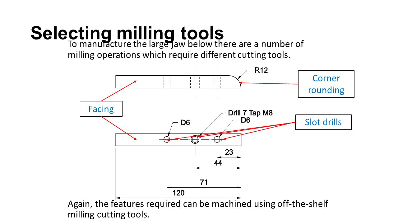 Machining 2 stsengs855 mem09002b interpret technical drawing ppt selecting milling tools biocorpaavc