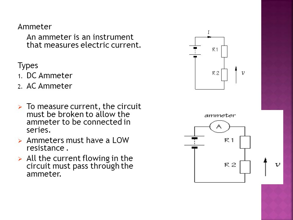 Instrument Current Electricity : Basic electrical tools and tackles ppt video online download