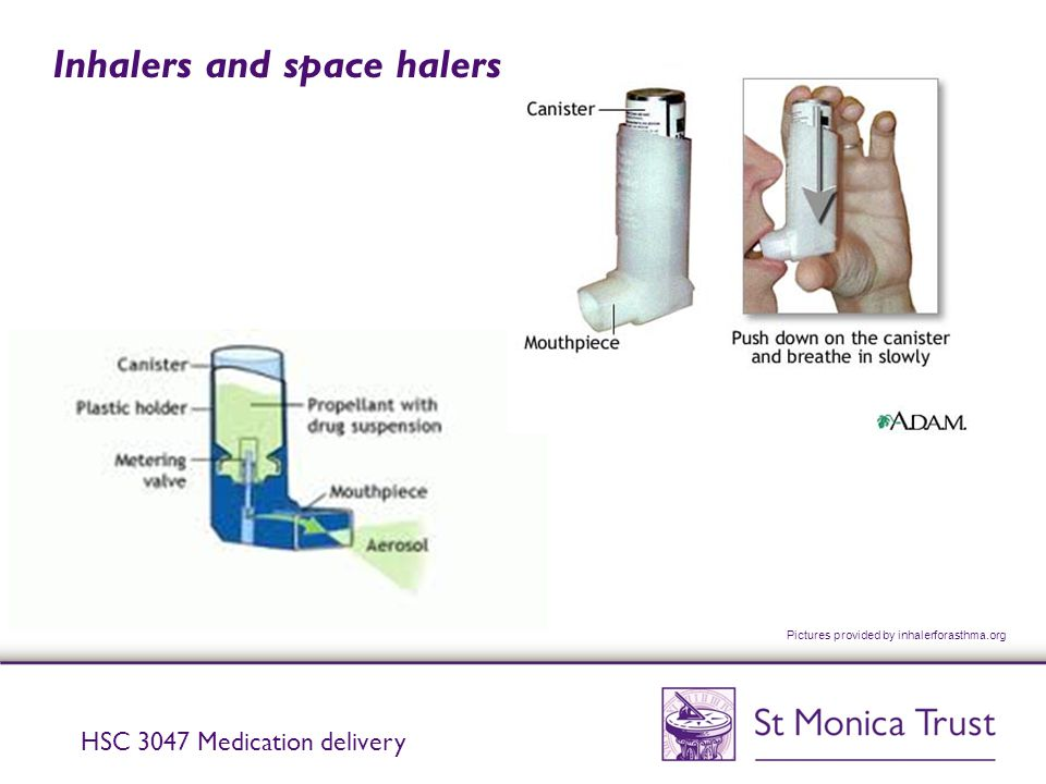Inhalers and space halers