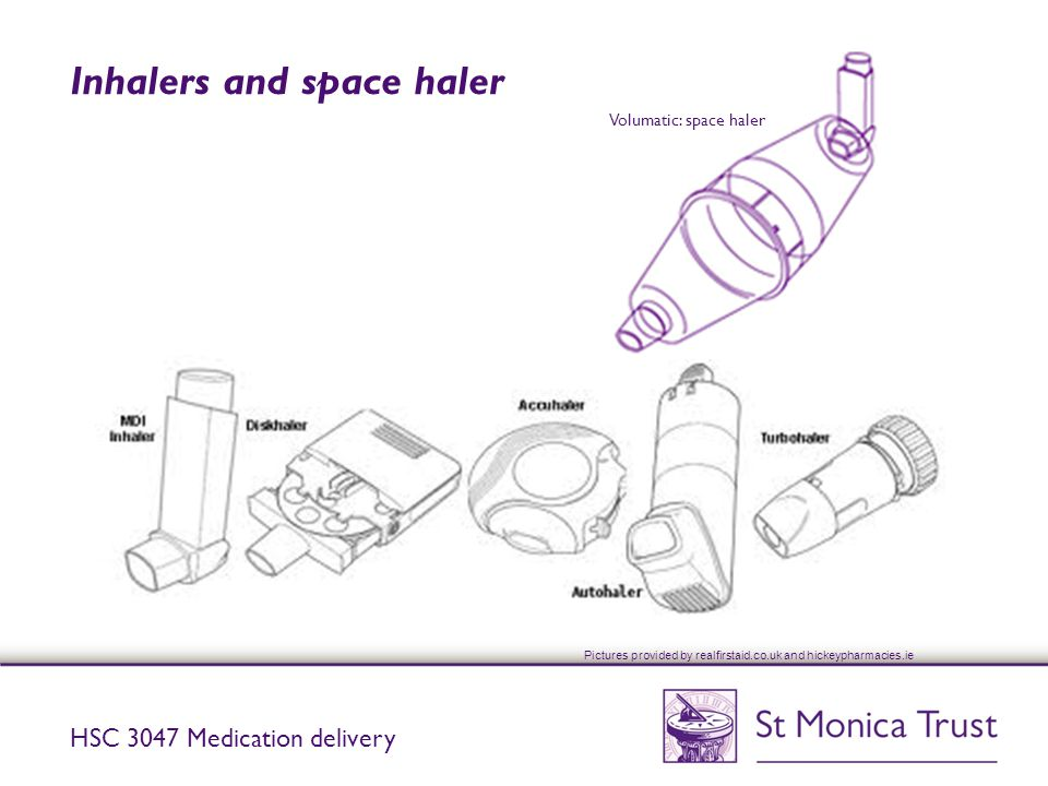 Inhalers and space haler