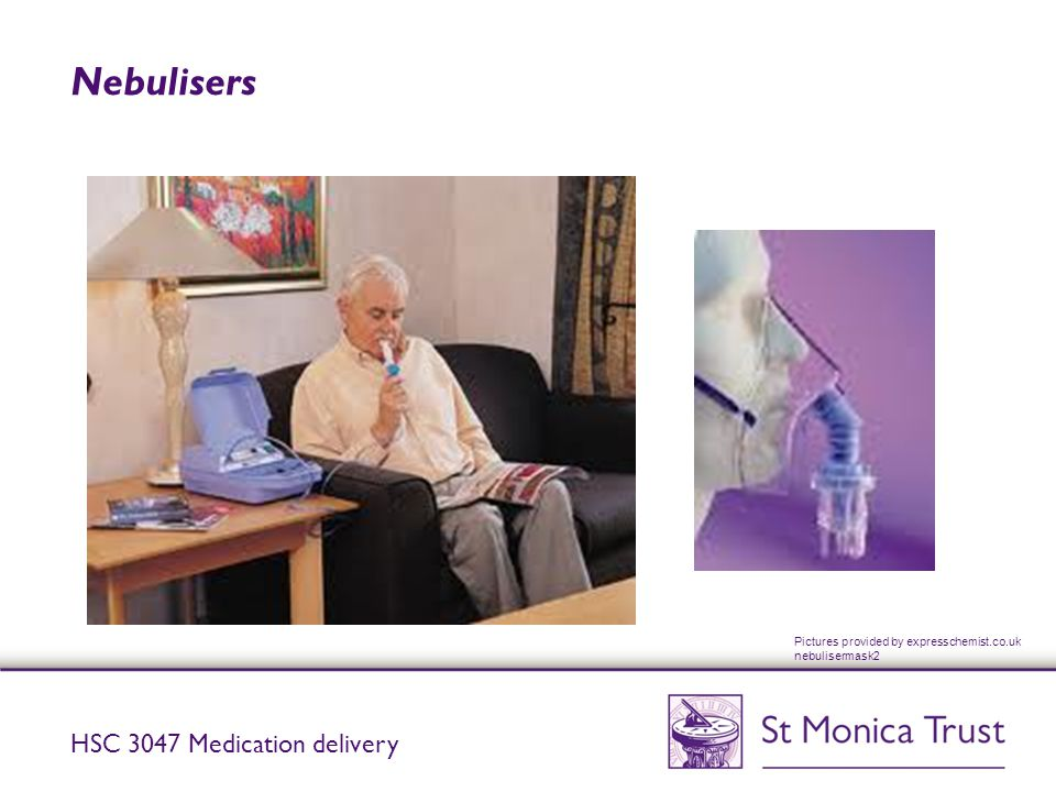Nebulisers HSC 3047 Medication delivery