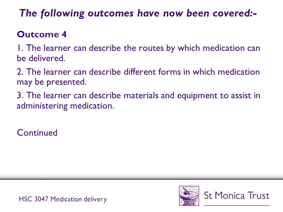 The following outcomes have now been covered:-