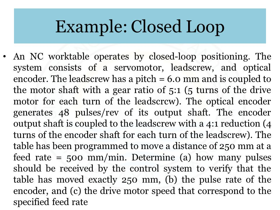 Example: Closed Loop