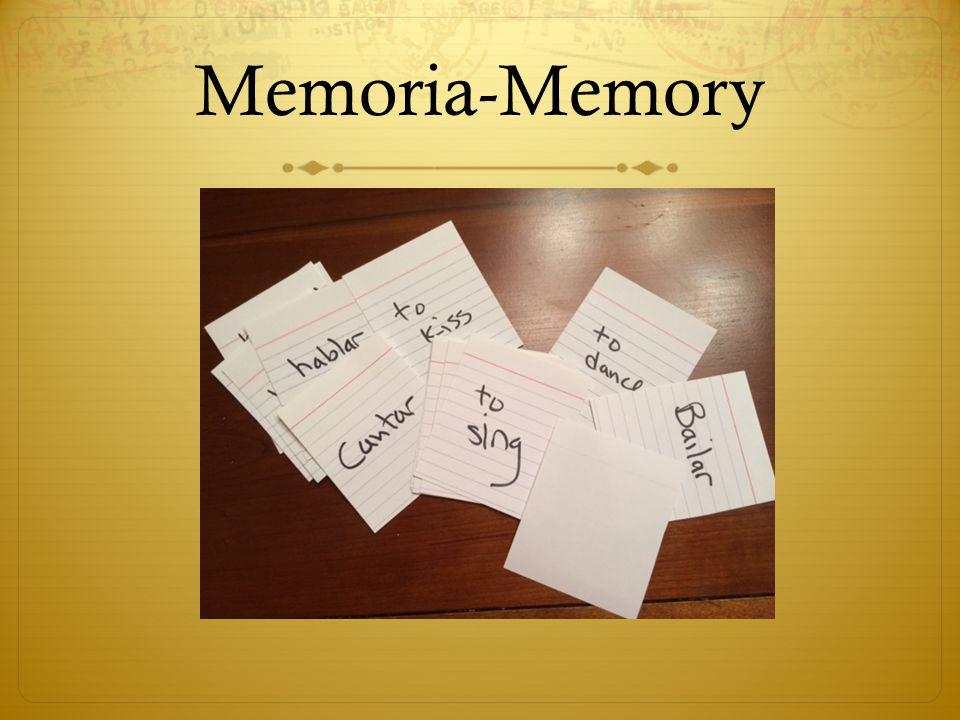Memoria-Memory