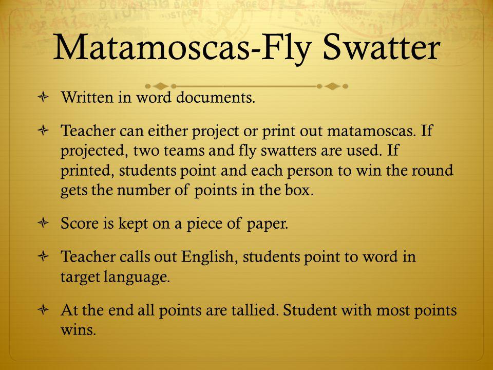 Matamoscas-Fly Swatter
