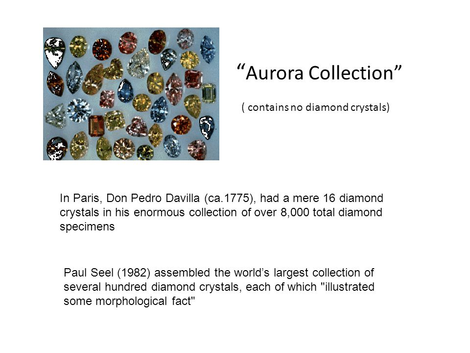 Aurora Collection ( contains no diamond crystals)