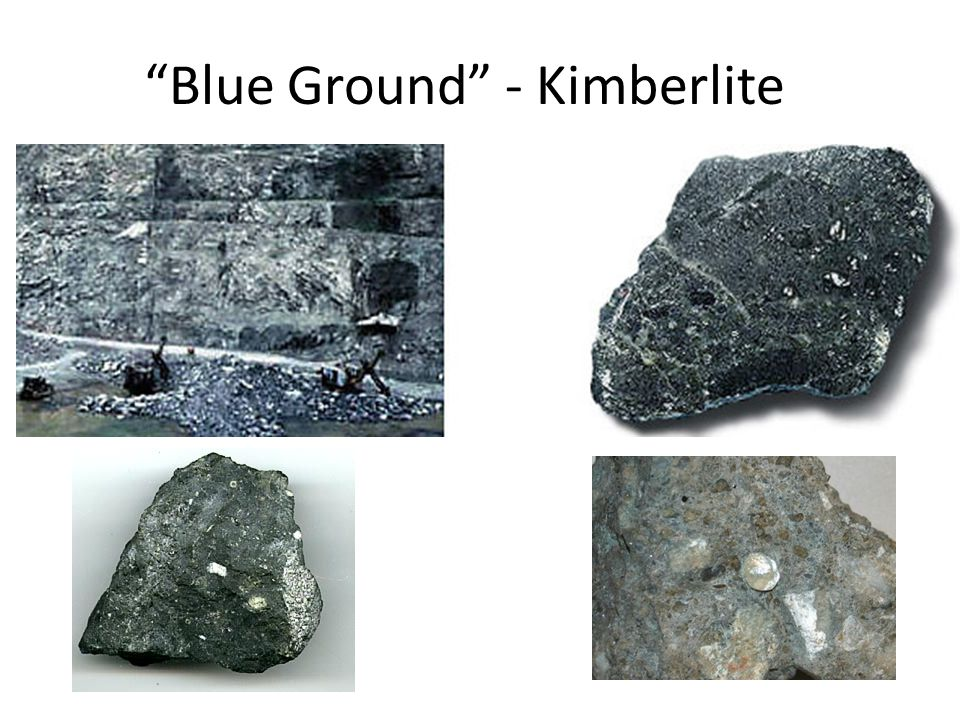 Blue Ground - Kimberlite