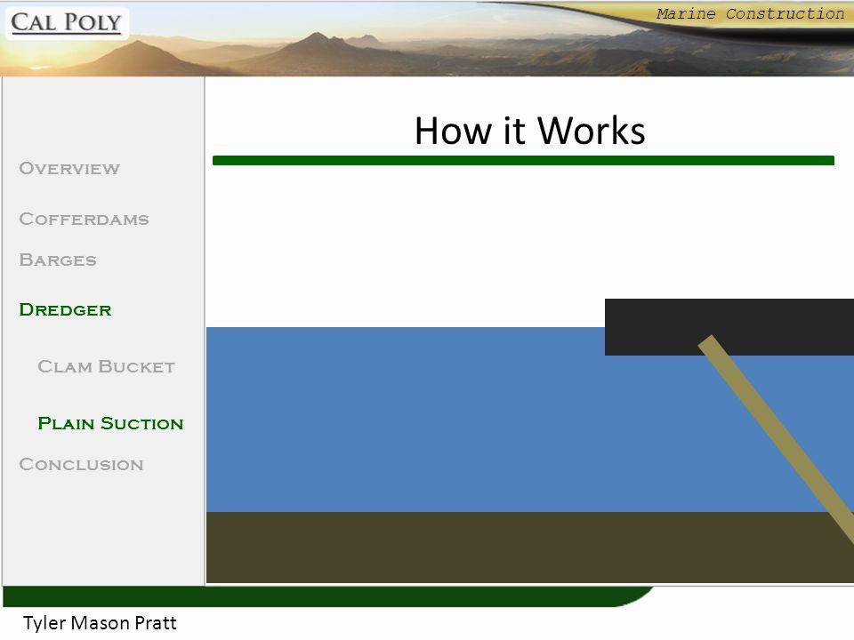 How it Works Tyler Mason Pratt Overview Cofferdams Barges Dredger