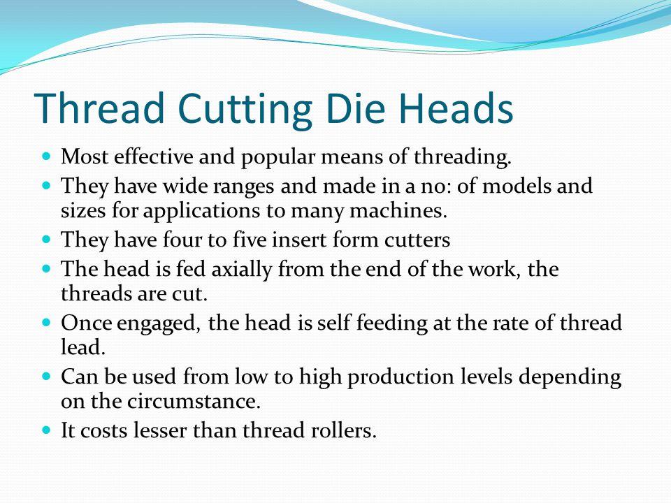 Thread Cutting Die Heads