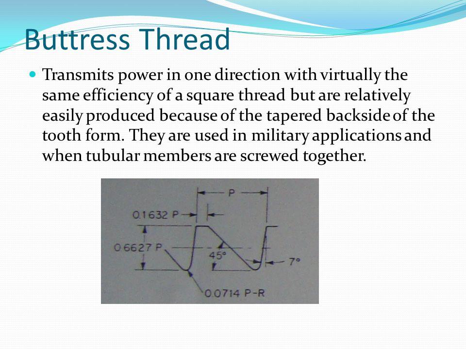 Buttress Thread