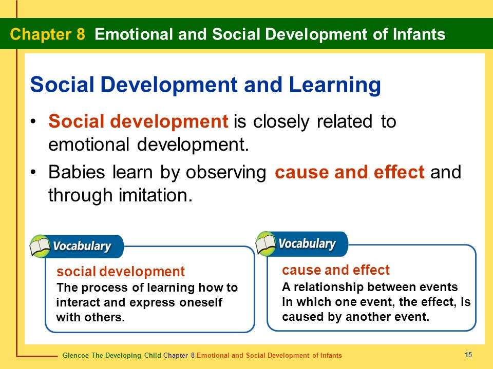 Social Development and Learning