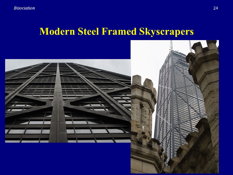 Modern Steel Framed Skyscrapers
