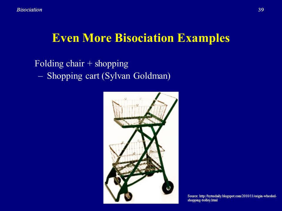 Even More Bisociation Examples