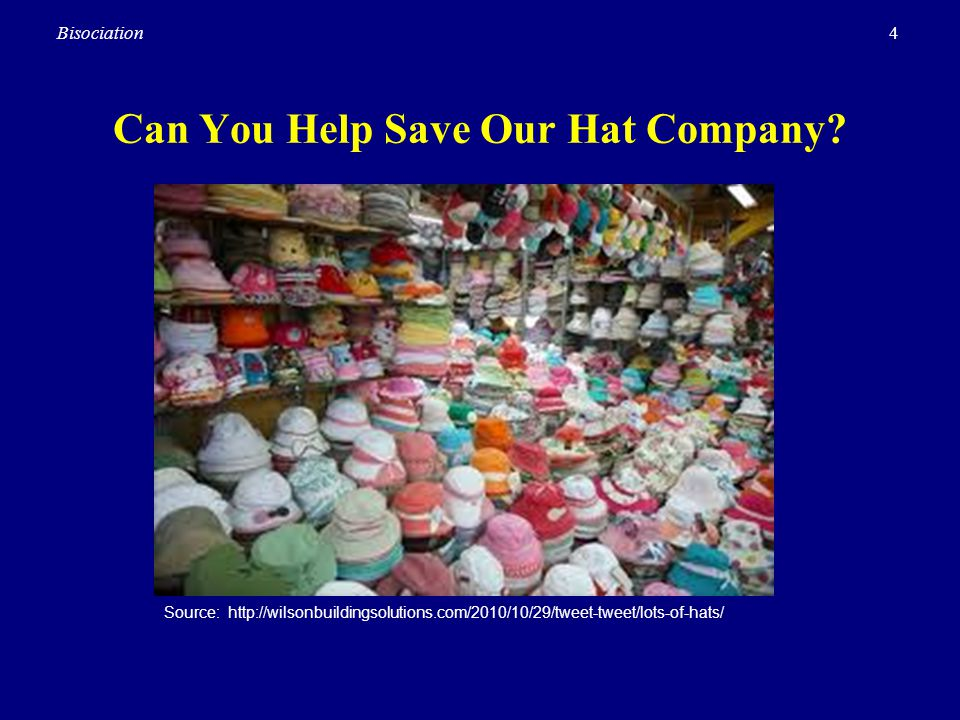 Can You Help Save Our Hat Company