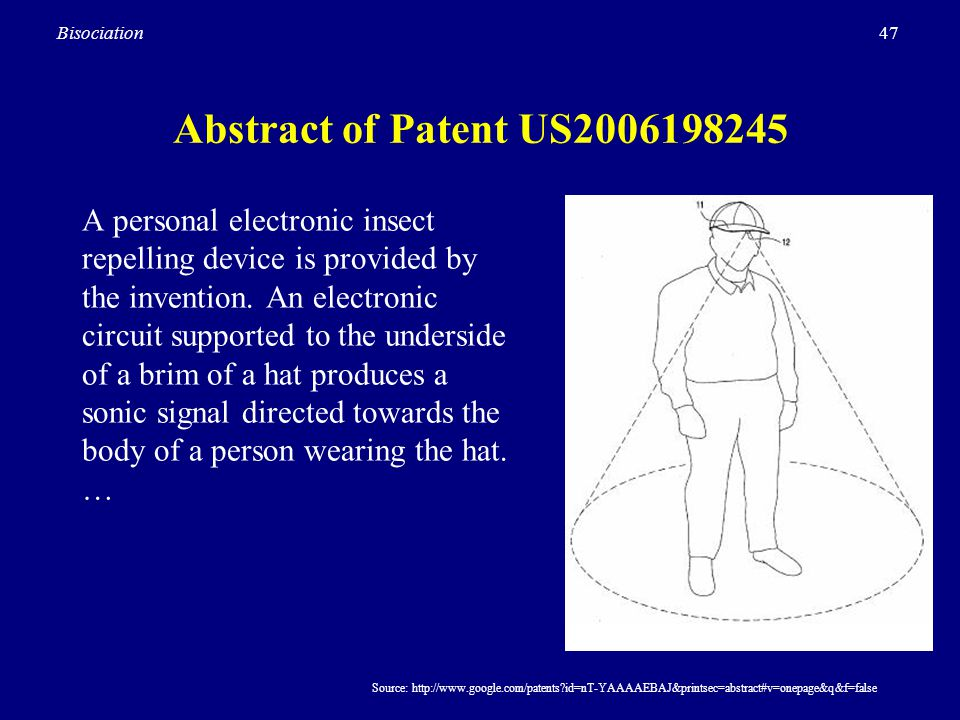Abstract of Patent US2006198245