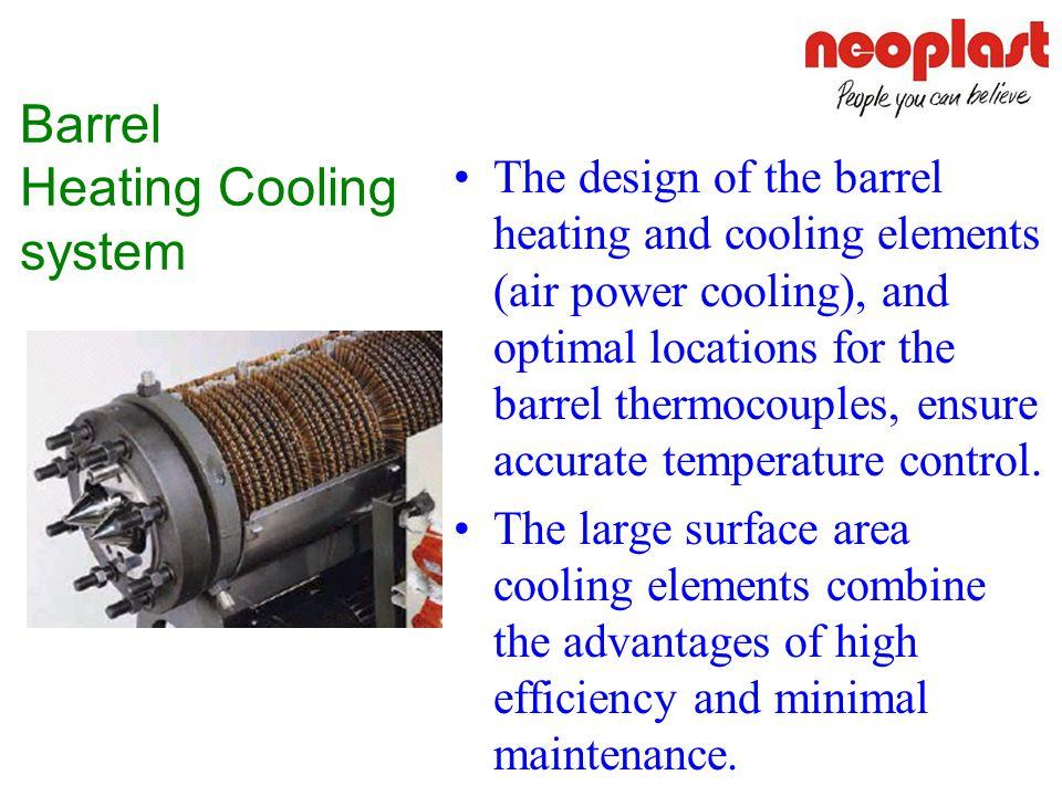 Barrel Heating Cooling system