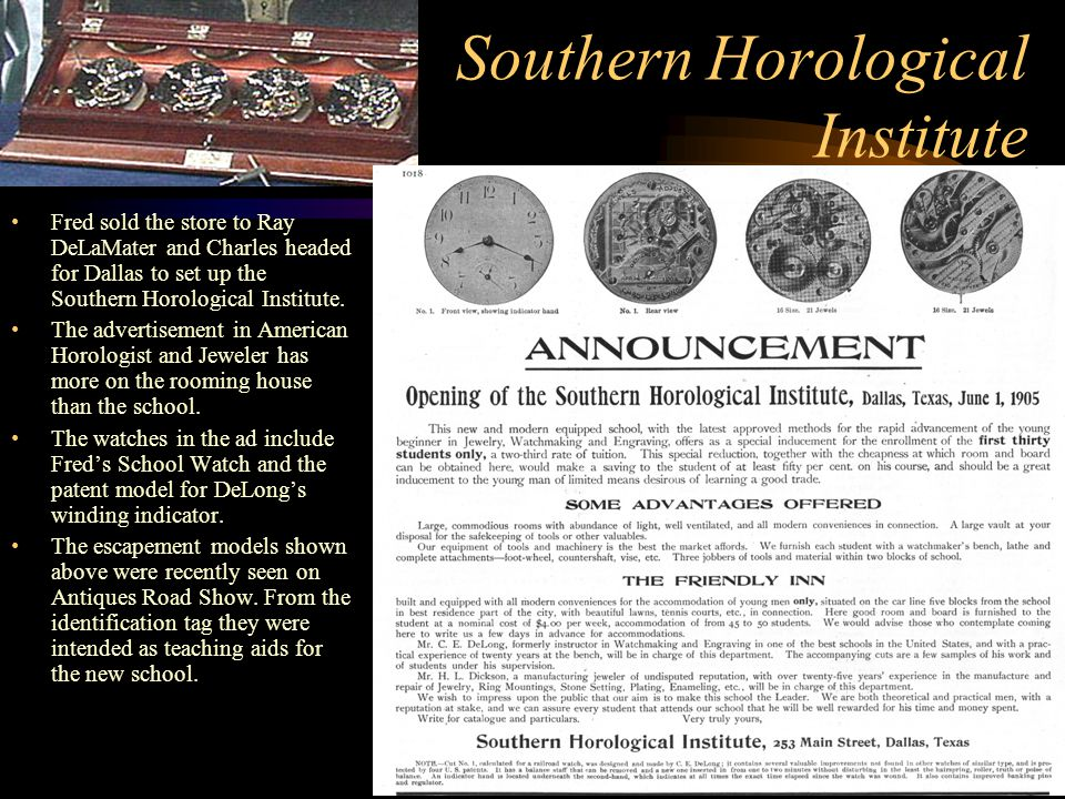 Southern Horological Institute