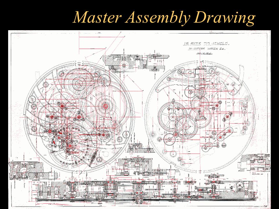 Master Assembly Drawing