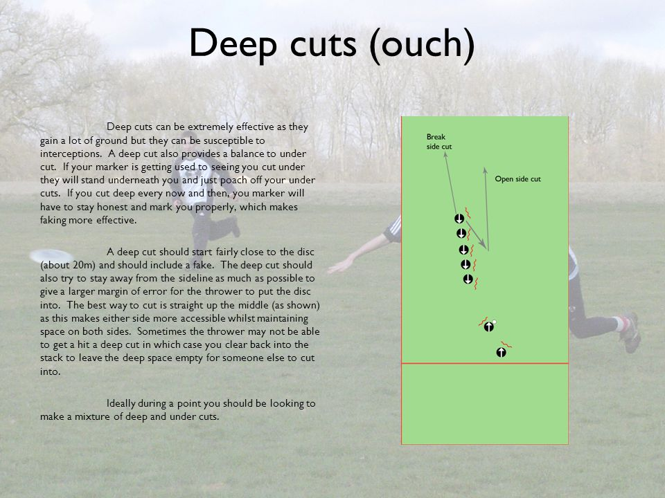 Deep cuts (ouch)