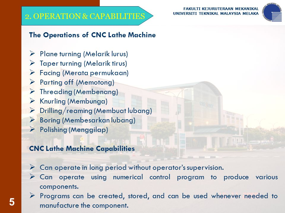 2. OPERATION & CAPABILITIES